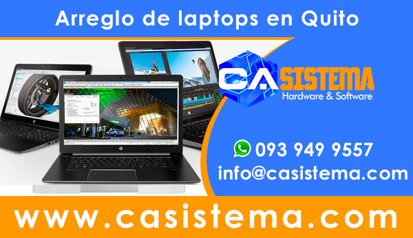 arreglo de laptops en Quito