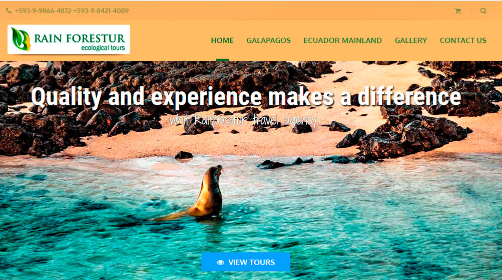 Galapagos travel agency